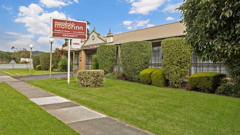 Top Notch I.T Accommodation Website Design, Manifold Motor Inn in Victoria