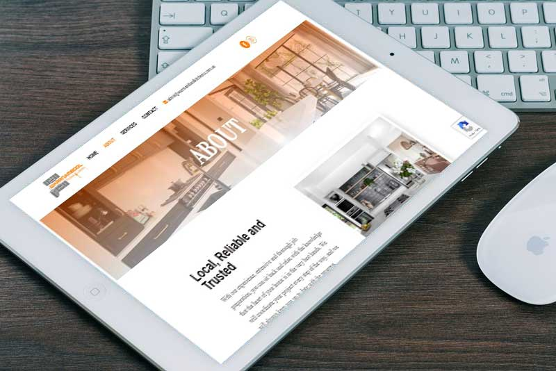 Top Notch I.T Web Design Horsham Portfolio Image 4